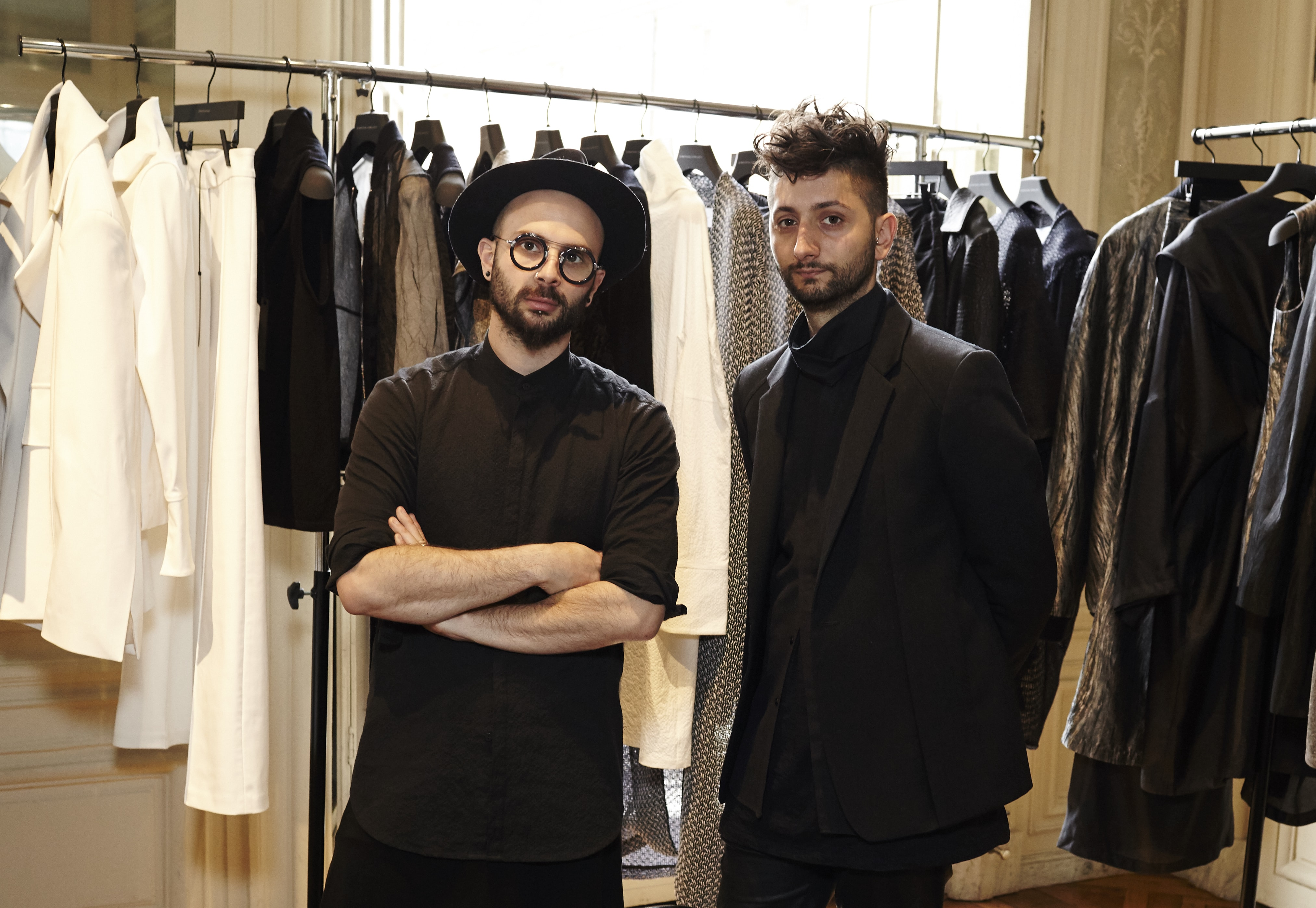 Meet the Designers at the AFC Paris Fashion Week Showroom, March 2016: STRATEAS CARLUCCI