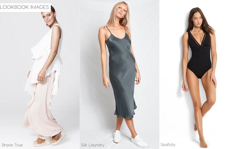 Lookbook image type, Brave True, Silk Laundry, Seafolly, Flaunter
