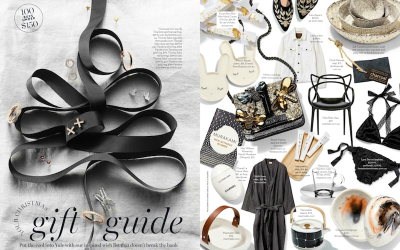Marie Claire Gift Guide Flaunter