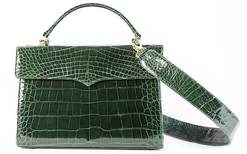 Yaskulsky-Varsovia-Alligator-Green-Forest-With-Strap
