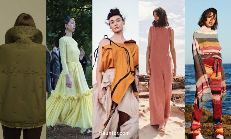 Eva Galambos From Parlour X Chooses Her 2018 Flaunter Emerging Designers Flaunter