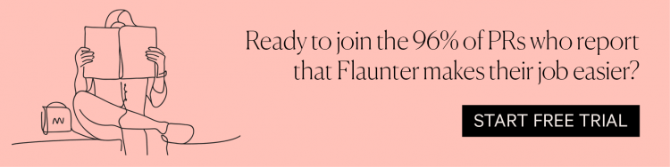 Sign up for a free trial of Flaunter
