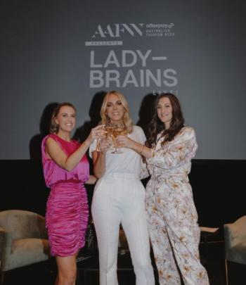 lady-brains Afterpay Australian Fashion Week